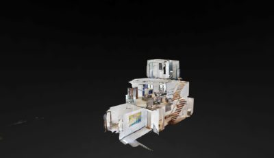 Luxury Holiday Rental 3D Model